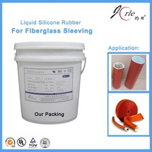 Jorle clear silicone rubber for fire resisting sleeves (LSR1318)