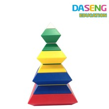 ICTI Certificated ABS plastic building stacking blocks baby toys