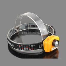 2014 new product headlight 500 lumensled rechargeable hunting headlight