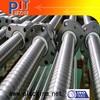 black color thread rod / internal thread bar / carbon steel stud bolt