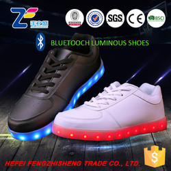 HFR-ZS-3 2015 basketball led grocery shopping clubbing shoes with lights for men