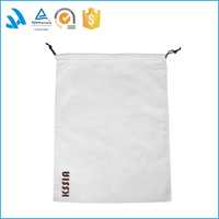 Wholesale Custom made drawstring linen jewelry pouch