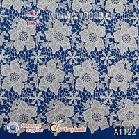 2014 Apparel Garment Accessories F6625 DTY Poly Milky Fabric for Wedding Dress Lace