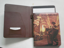 Leather Folder with metal clip for Hampton Inn And Suites
