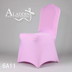 High quality lycra chair cover spandex chair cover wedding chair cover from China factory