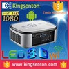 Professional manufacturer touch button android bluetooth 3D wifi android 1000 lumens projector for htc one