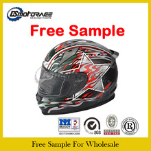 Free Sample Double Visor Full Face Motorcycle Helmet