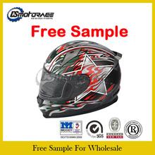 High Safety Double Visor Full Face Motorcycle Helmet