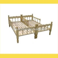 Children Furniture Classic Design Wooden Bed Childrens Home Care