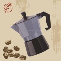 Bialetti Supplier aluminum Venus expressed coffee maker moka pot