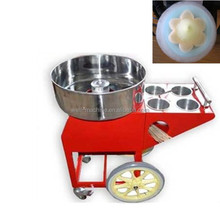 Cotton candy machine new model full stainless steel cart