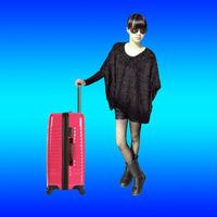 OEM travel suitcase maleta bag luggage for American USA international trading traveler, China Brand Customize Factory