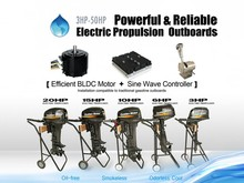 3KW-20KW electric outboard conversion kit / electric propulsion outboard with Brushless BLDC motor and New sine wave controller