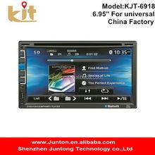 gps navigation universal stereo radio audio function touch screencar radio dvd