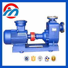 ZX high suction self-priming 3hp marine sea water fire pump