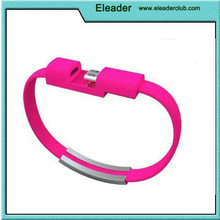 USB Charging Charge Data Sync Cable For Mobile Phone Bracelet Wrist Band Charger