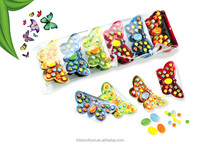 Hitwon butterfly candy pressed fruit candy tablet candy