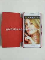 High quality flip cover for lg optimus l9 p760