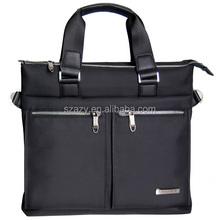 Twill Nylon Waterproof Office Bag For Man, Laptop Business Bag