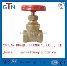 brass stem gate valve
