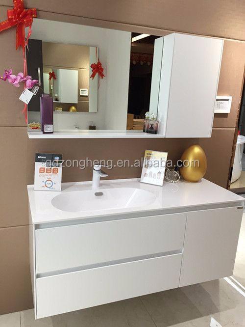 Autme de luxe en acier inoxydable salle de bains cabinet for Cabinet salle bain
