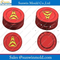 16 Cavity Plastic injection tamperproof cap Mould with hot runner