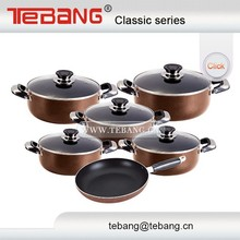 China supplier porcelain coated cast iron cookware