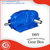 China DBY Hardened tapered cylindrical reduction gearbox/gear reducer/gear boxes