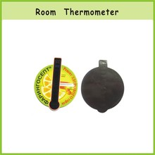 Removable Magnetic Room Thermometer Card Hanging wall ,LCD Room Thermometer