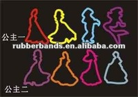 2012 new design hair accessory elastic rubber bands and exercise rubber band for hair