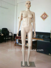 A113 Plastic Mannequin Female Doll With Metal Base