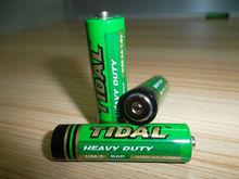 Super Heavy Duty battery 1.5V AA Carbon ZInc battery