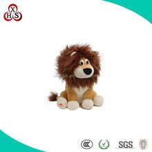 wild animal plush toy lion made in shenzhen factory