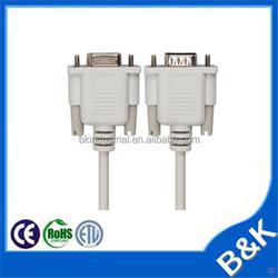 Cambodia db9 to vga cable in bulk