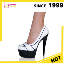 Products Prices PU & PVC Insole Fashion High Heels 2015 Sexy Office Lady Shoes