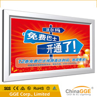 large size outdoor advertising led fabric light box/signboard