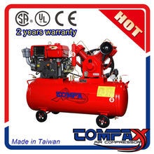 Best air compressors for concrete block and road making machine