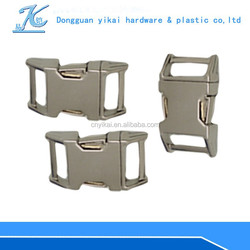 5/8 inch metal buckles for dog collar,quick release buckle for paracord,side release buckle for dog collar