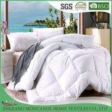 100% polyester fabric quilt mircofiber filled quilt