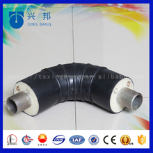 90 degree directly buried underground polyurethane insulation Elbow for insulation pipe fittings