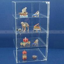 Countertop Acrylic Storage Cabinet, Locking Acrylic Jewelry Showcase Display, Lockable Acrylic Display Case Box