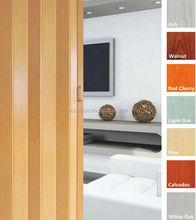 PVC folding door ,plastic accordion door ,sliding door