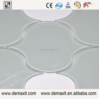 Beautiful Lantern shape Demax manufacture Water jet glass tile