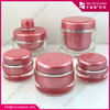 100ml 200ml clear acrylic containers with lids