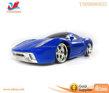 Hot plasitc racing electric remote control car for kid age 6+