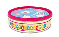 2015 New design Easter Festival Butter Cookies in Tin