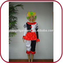 Sexy mujer traje de halloween traje de cosplay payaso para las niñas PGFC-2486