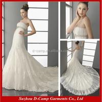 WD-1657 Vintage lace wedding dress lace overlay wedding dress 2014 vestido de noiva