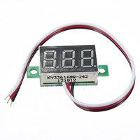 Mini Green 3 Digital LED Display Voltmeter Car Volt Voltage Tester Meter DC 0~32V Battery Voltage Meter