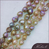 Wholesale 11-13 mm A multi-color furrow edison pearls string